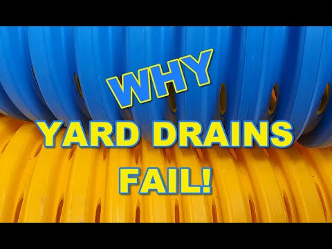 Why Most Yard Drains Fail - Must Watch!!!!