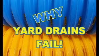 Gambar cover Why Most Yard Drains Fail - Must Watch!!!!