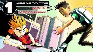 DESENHO ANIMADO COMPLETO | Megasonicos Ep 01 Parte 02