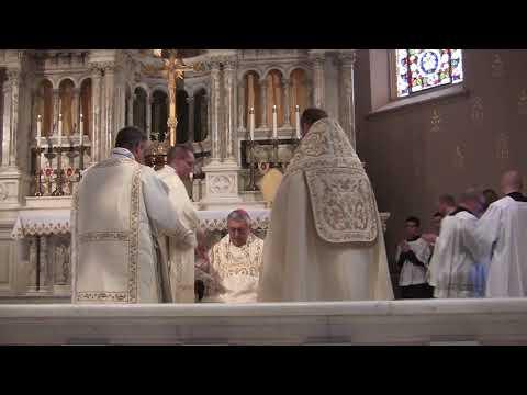 Pontifical High Mass Feast of Christ the King - St. Joseph Church - Lancaster, Pa.