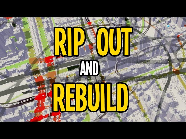 When Ripping out your Messy Metro is the Best Idea in Cities Skylines!