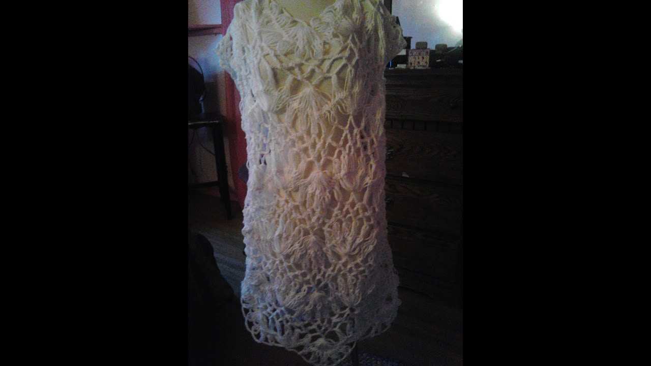 041aa1be7c2d8 Hairpin Lace Top/Dress/Overlay - YouTube