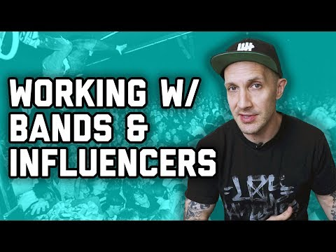 How to work with influencers, bands, and VIPs - marketing
