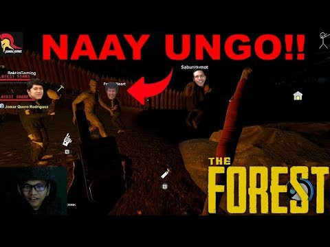 THE FOREST EP. 5 - BISAYA GAMER PLAYS HORROR GAMES