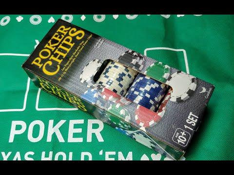 Покерные Фишки Кардинал Распаковка и Испытание 2020 (Poker Chips From Walmart)