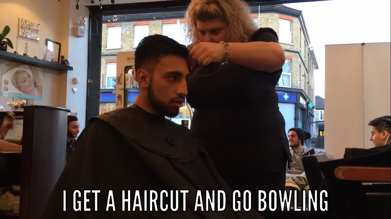 Vlog 7 I Get A Haircut And Go Bowling Youtube