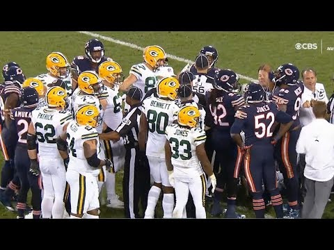 Davante Adams In A Knockout / Packers vs Bears / NFL Week 4