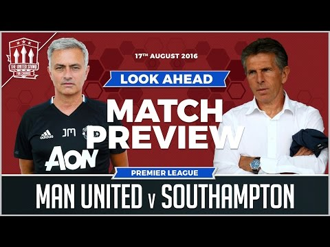 Manchester United vs Southampton PREVIEW