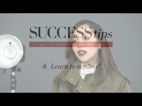 Michelle Phan's 5 Tips for Success