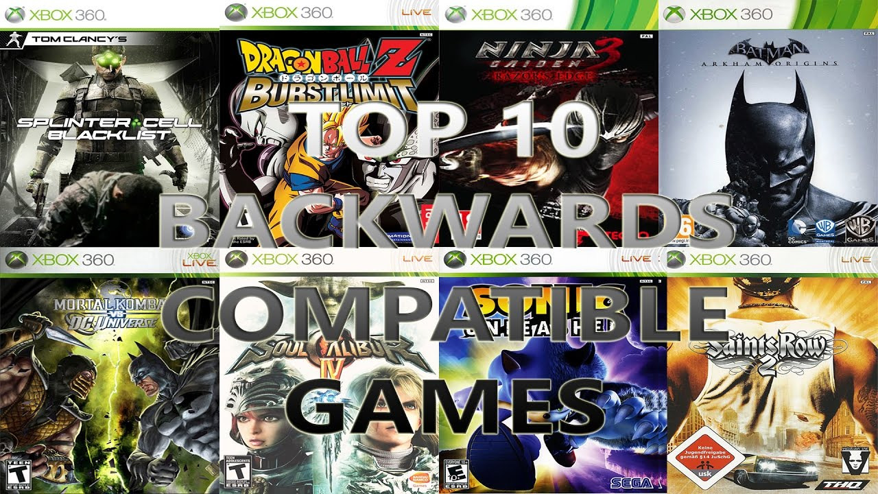 Top 10 Xbox 360 Games We STILL Need Backwards Compatible