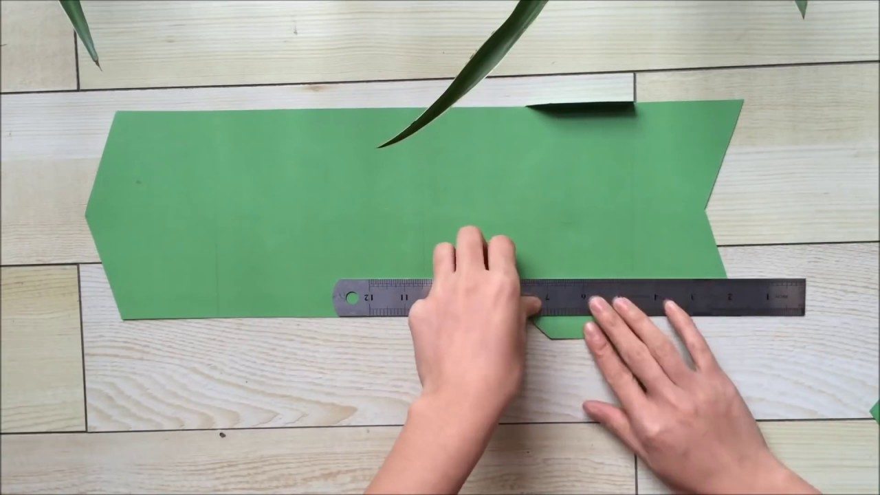 How To Make Pocketfold Wedding Invitation At Home - YouTube