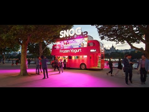 Cinematic Sunset Walk Tour Of London's South Bank