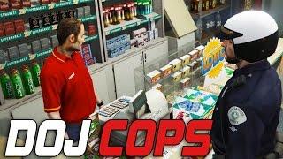 Dept. of Justice Cops #57 - 24/7 Clerk (Criminal)