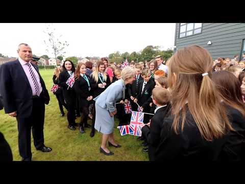 Her Royal Highness The Duchess of Gloucester Officially Opens Workington Academy