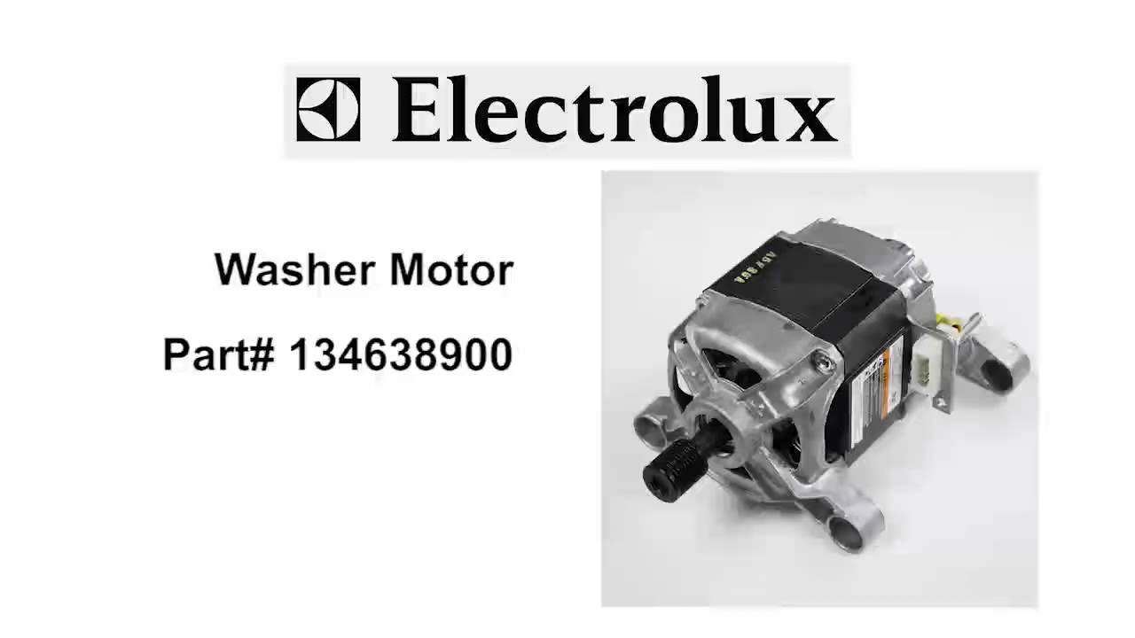 hight resolution of electrolux washer motor part number 134638900