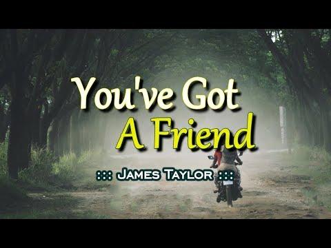 You've Got A Friend - James Taylor (KARAOKE)