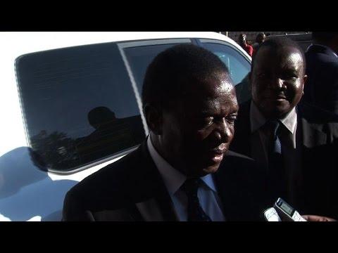 Zimbabwe's Mugabe appoints new VP after major purge