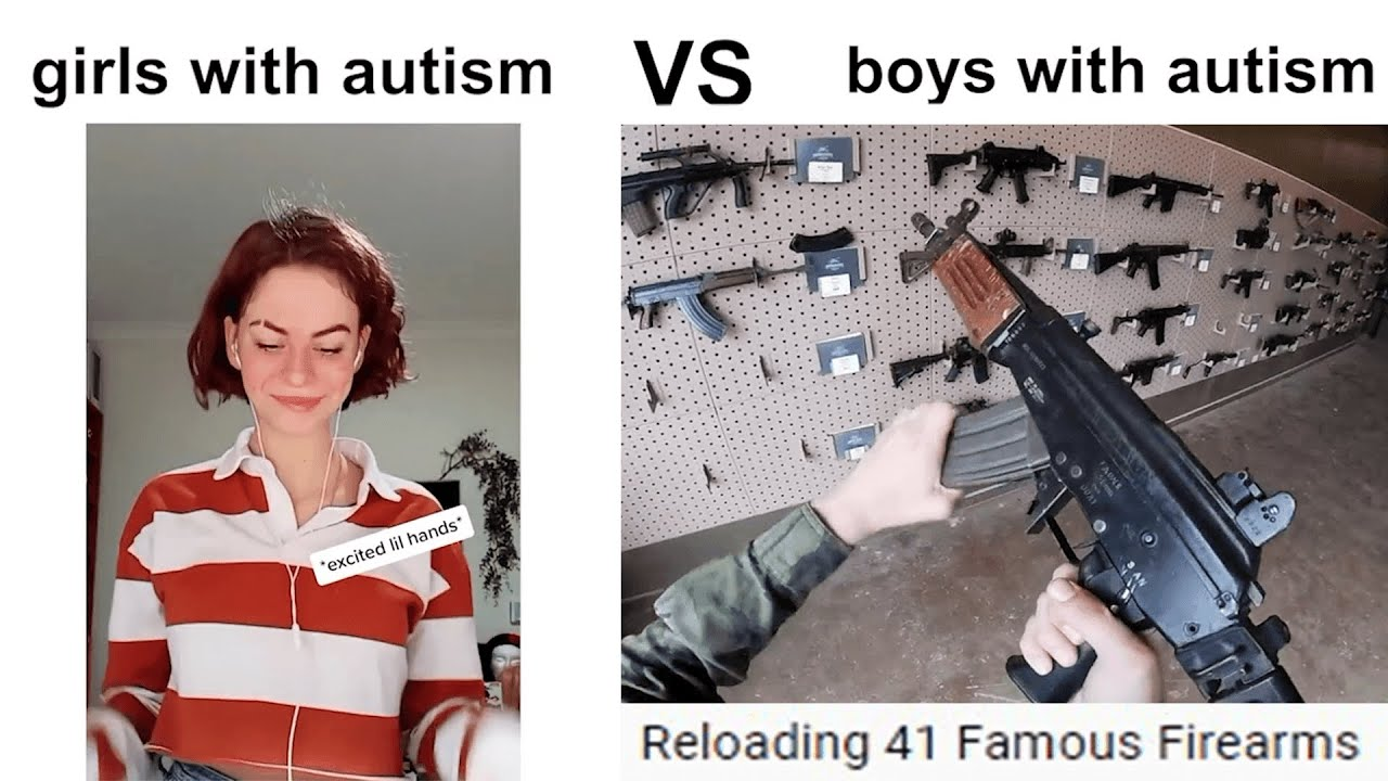 girls with autism vs boys with autism