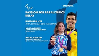 Passion for Paralympics relay -- Live Instagram interview with Phelipe Rodriguez