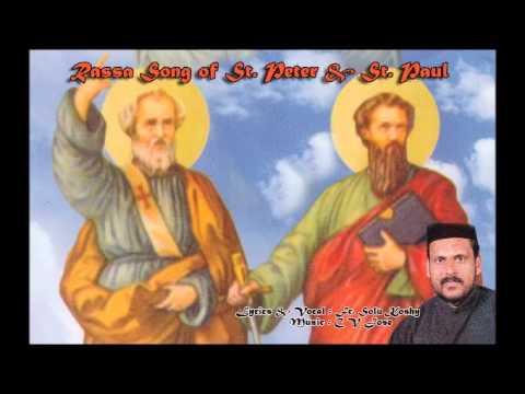 Rassa Song of St. Peter & St. Paul by Fr. Solu Koshy.