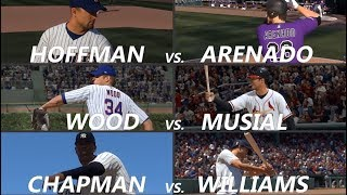 MLB The Show 19 Moments: More Dream Matchups!