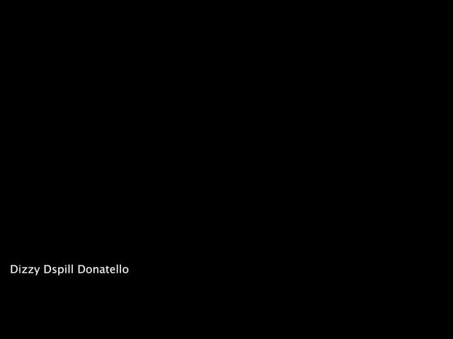 Dizzy Donatello