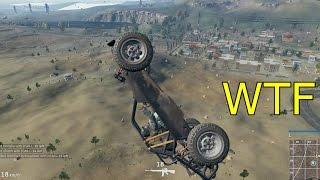 PUBG - Insane Car Flip