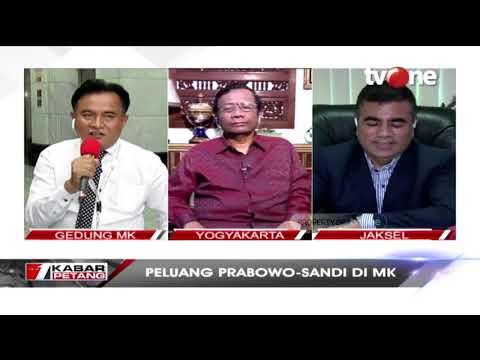 DEBAT!! Tiga Pakar Hukum Handal Bahas Gugatan Prabowo Sandi Di MK
