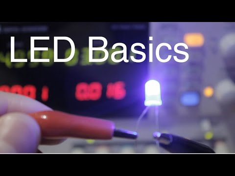 Introduction To The Light Emitting Diode (L.E.D.)