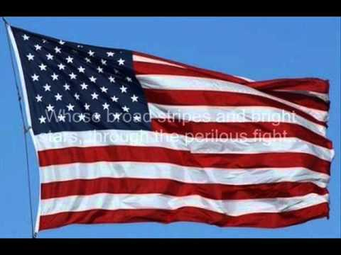 The Star Spangled Banner (Performed By Lee Greenwood).wmv