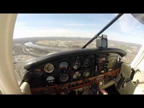 First Solo X-Country Flight - Piper Warrior