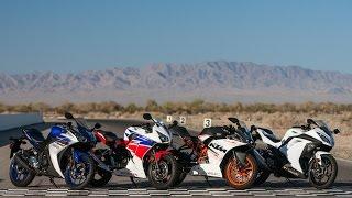 2015 Beginner-ish Sportbike Shootout