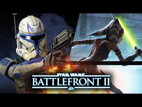 Star Wars Battlefront 2 - New Clone Wars Hero Teases! Emperor Palpatine and Last Jedi Updates!