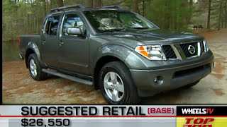 2005 Nissan Frontier Test Drive