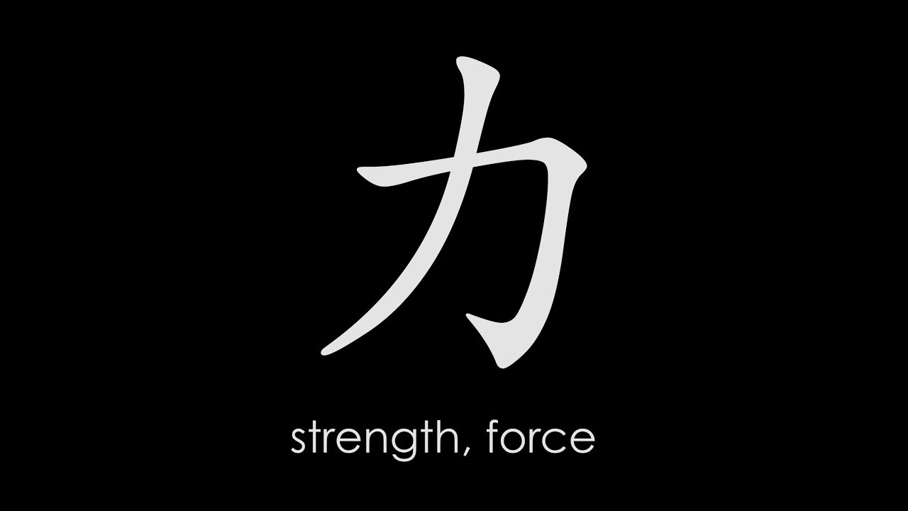 Popular Chinese Characters Strength Force Youtube
