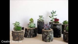 New 50 Log Wood DIY Creative Ideas 2016 - Log wood home ideas Part.3 -newest home decor