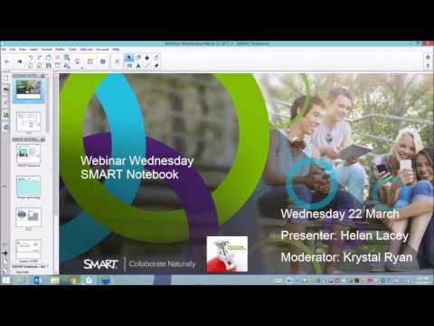 SMART Australia Webinar Series: Getting to know SMART Notebook 16.2