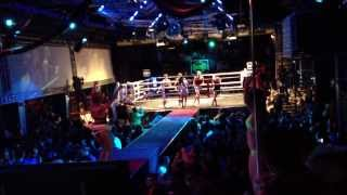 "Cheryl Martinez Performing ""Stronger"" at MMA Fight in Spain (WATCH IN HD)"