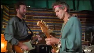 Eric Clapton, Keith Richards, Chuck Berry -Jam 1986- (Video with Synchronized Sound)