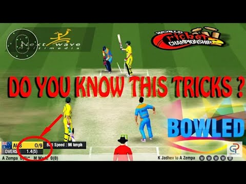 WCC2 BOWLING TRICK 2018,HOW TO TAKE WICKETS WORKING 100% PROVED