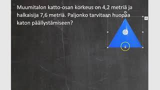 Kurssi 10: Avaruusgeometria: osa7: Kartion pinta-ala
