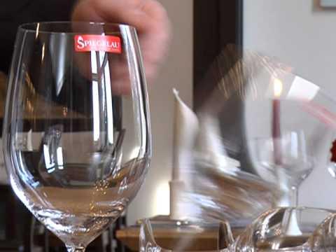 Spiegelau - The Wine Glass Test - YouTube