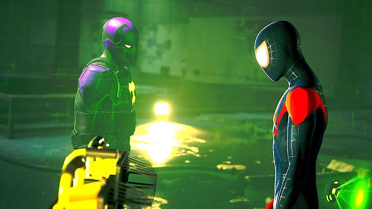 Prowler Kidnaps Miles Morales - Spider Man Miles Morales 2020