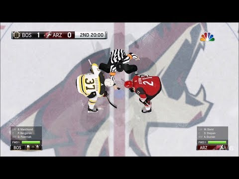 NHL 18 - Arizona Coyotes vs Boston Bruins - Gameplay (HD) [1080p60FPS]