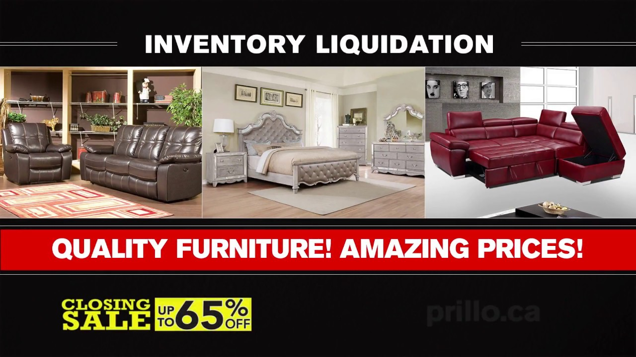 Sofa Liquidation Sale Modern Sectional Sofas Chicago After 40 Years In Business Prillo Furniture Is Closing Youtube
