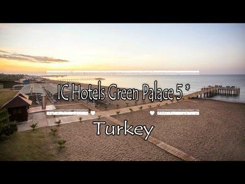 IC Hotels Green Palace 5*, Antalya, Turkey