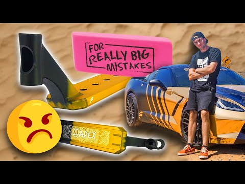 Corey Funk: Apex Pro Scooters BIGGEST Mistake