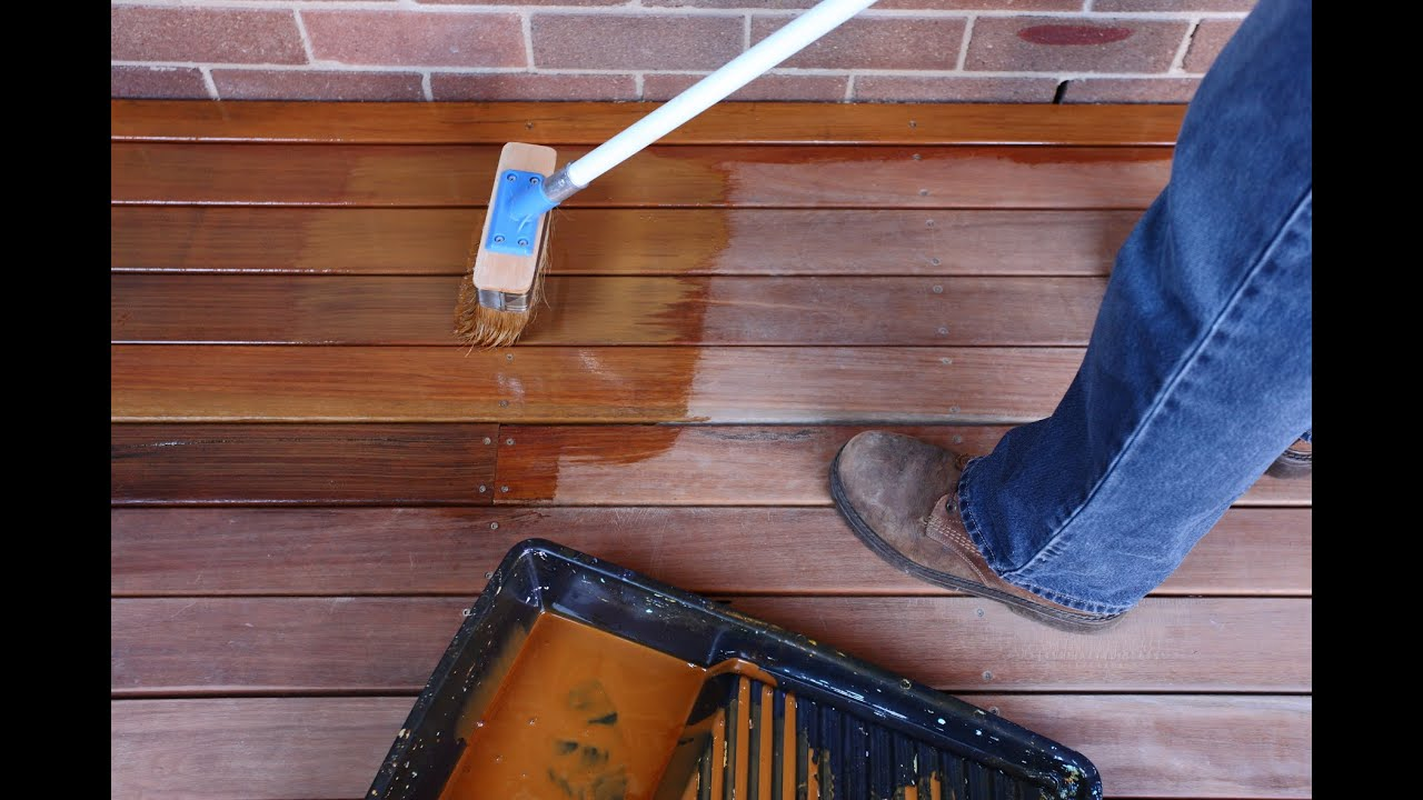 How to Coat a Timber Deck with Sikkens Cetol BLX-Pro