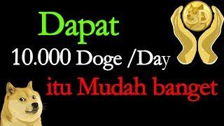 Dapat Ribuan Dogecoin/hari itu Mudah bangeeet! 💸🤑 | Dogeminer Legit