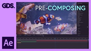 Precomposing in After Effects Ep12/48 [Adobe After Effects for Beginners]